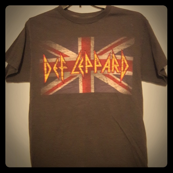 Other - Def Leppard novelty Tee - gray